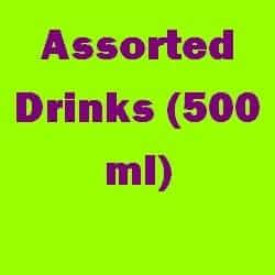 Assorted Drinks Ml